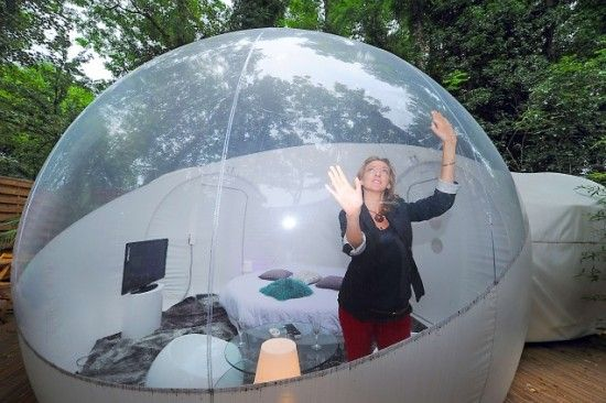 Inflatable Bubble Hotel Rooms Open In Roubaix Oddity Central Collecting Oddities Bubble Tent Bubble House Air Tent