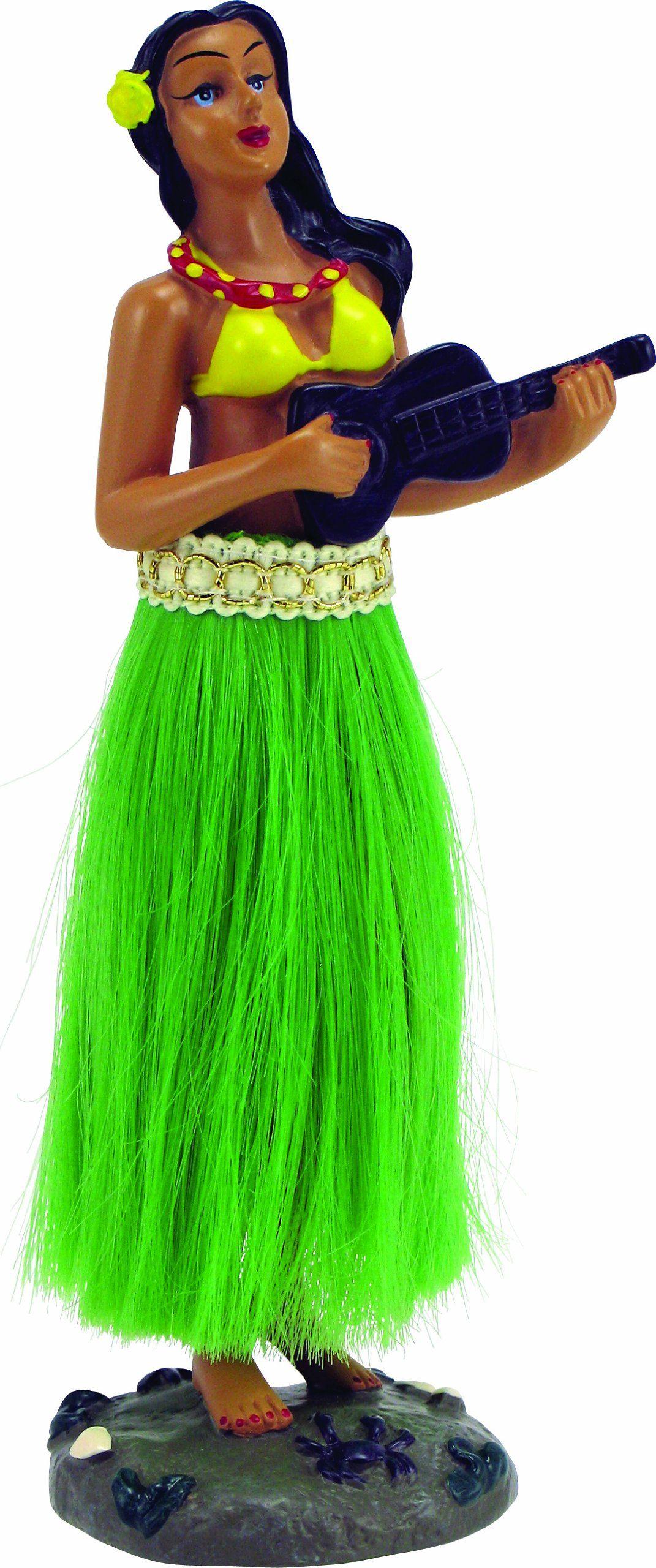 Bell 221367078 hula doll hula girl hula kitschy