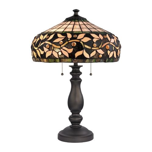 Design Classics Lighting Tiffany Table Lamp Vine Destination