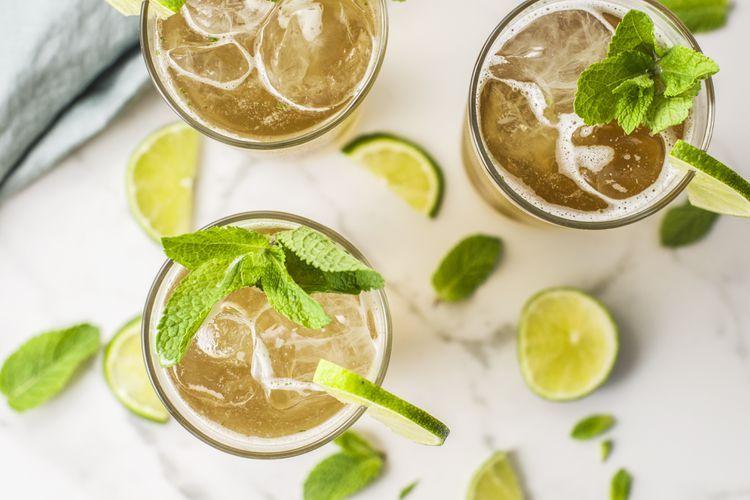 Gin Gin Mule Cocktail #bestgincocktails