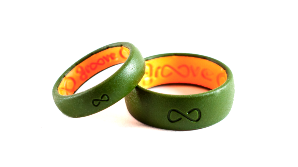 Groove Life First Breathable Silicone Ring Original Solid