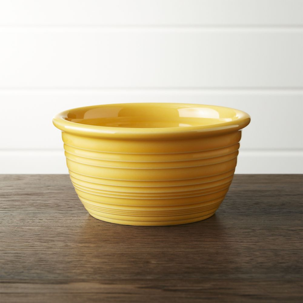 Farmhouse Yellow Cereal Bowl - Crate and Barrel