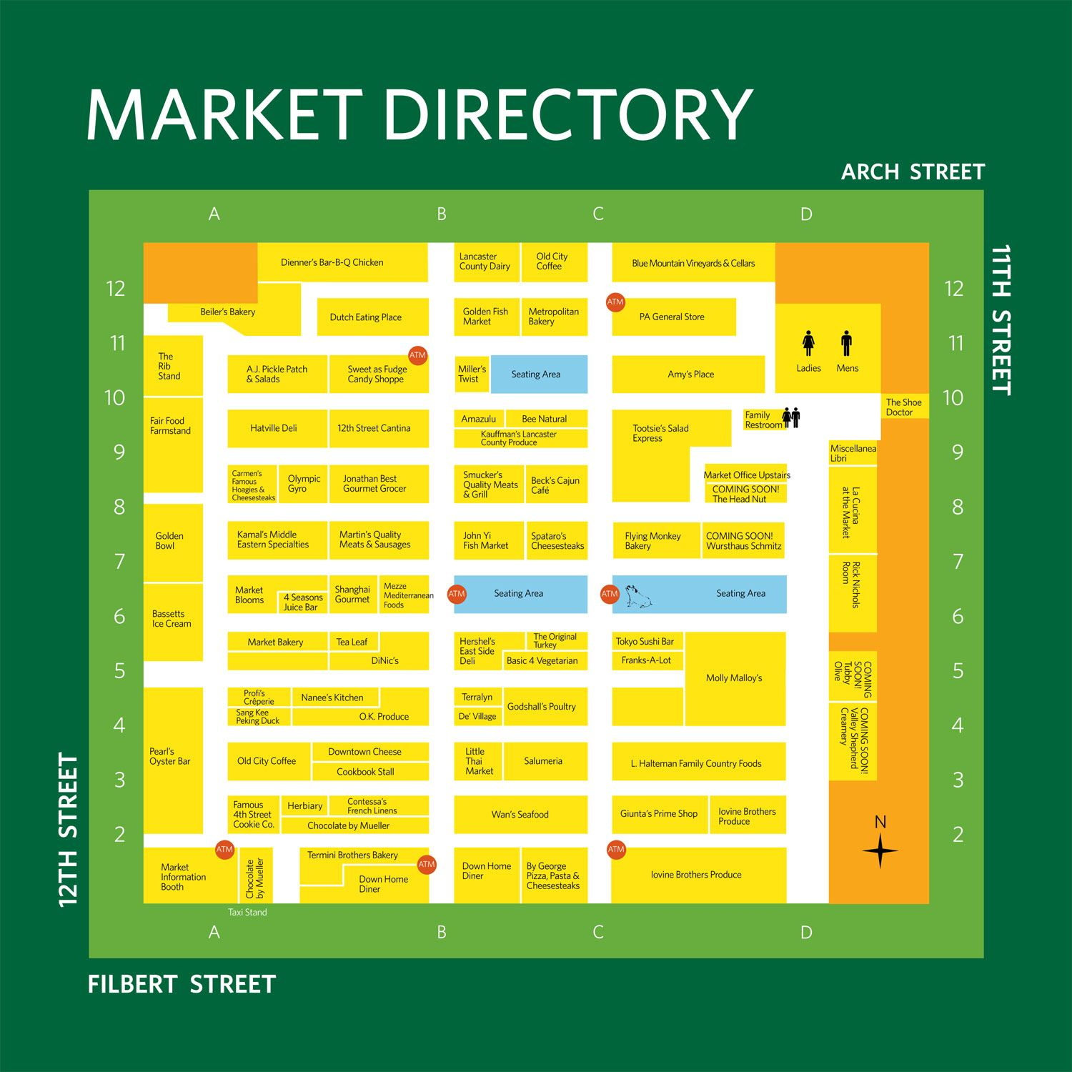 reading terminal market › shopping and food. reading terminal market › shopping and food  philadelphia