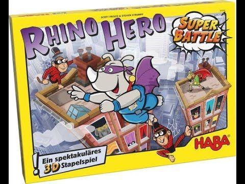 Comprar Rhino Hero Super Battle Juego De Mesa Para Ninos De Haba