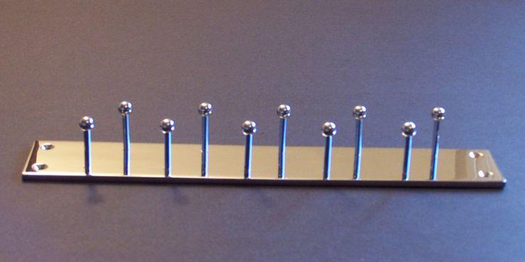 Double Row Tie Rack   Pinterest   Tie rack, Coat hooks and Spaces