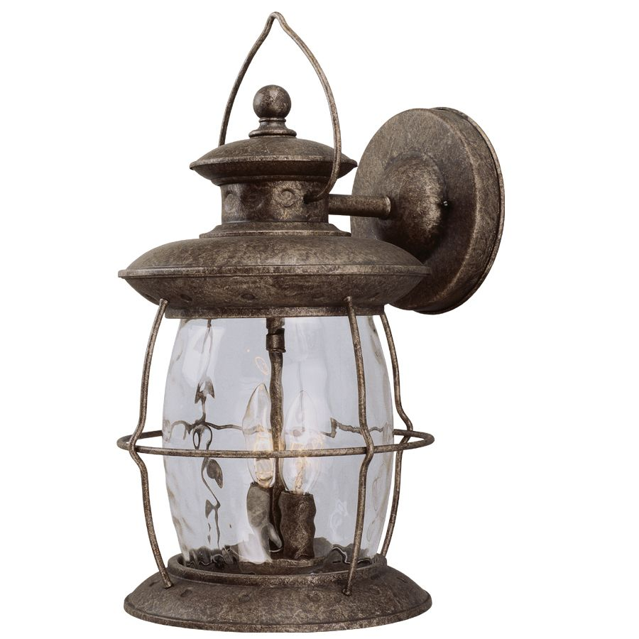 Shop Portfolio 16 7 8 In Antique Pewter Outdoor Wall Light