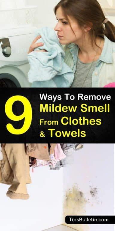 Easy Ways Remove Mildew Smell From Clothes Odor Washing