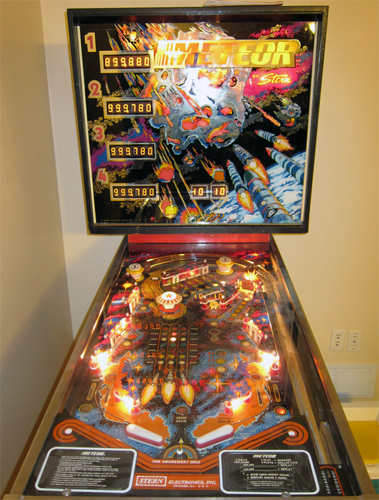 Meteor Pinball Machine For Sale Stern Used 1979 #pinball