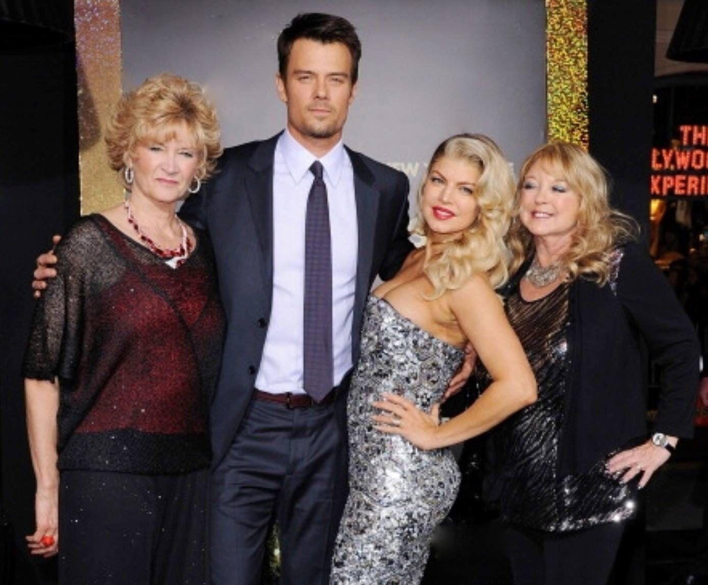 Joshua, Fergie & their Moms