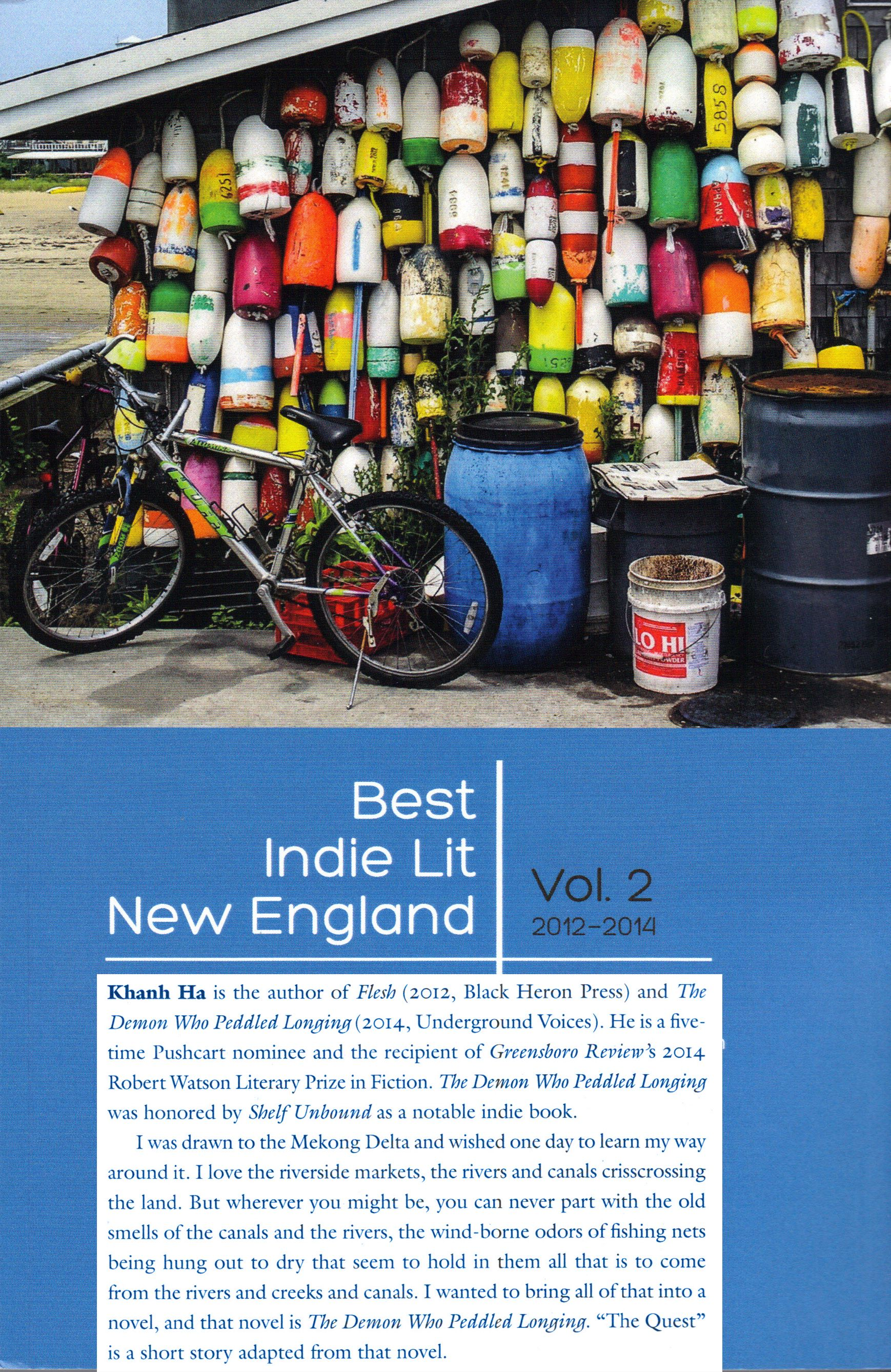 Selected from independent literary magazines in New England by Black