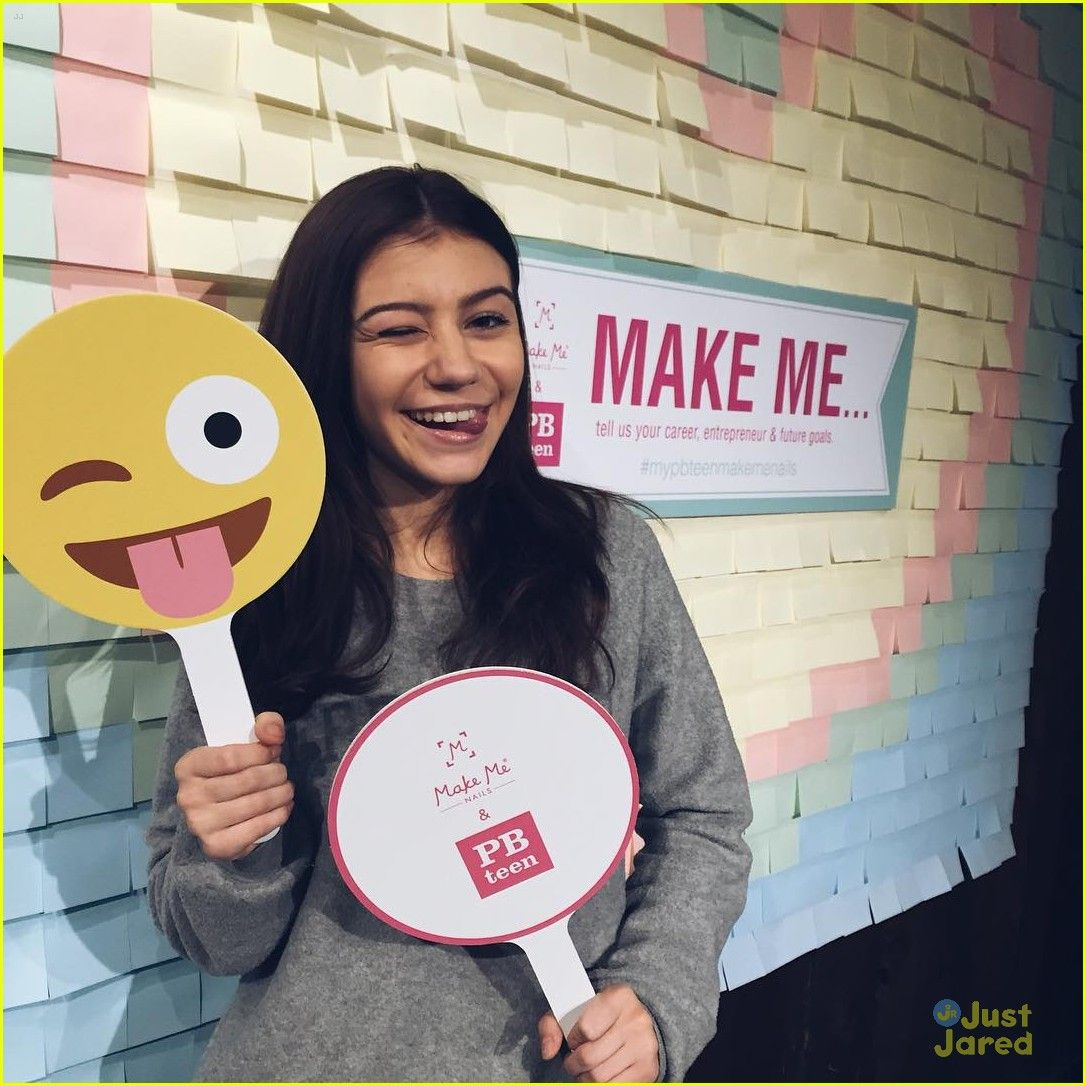 G Hannelius Dishes On Make Me Nails Holiday Collection, \'Roots ...