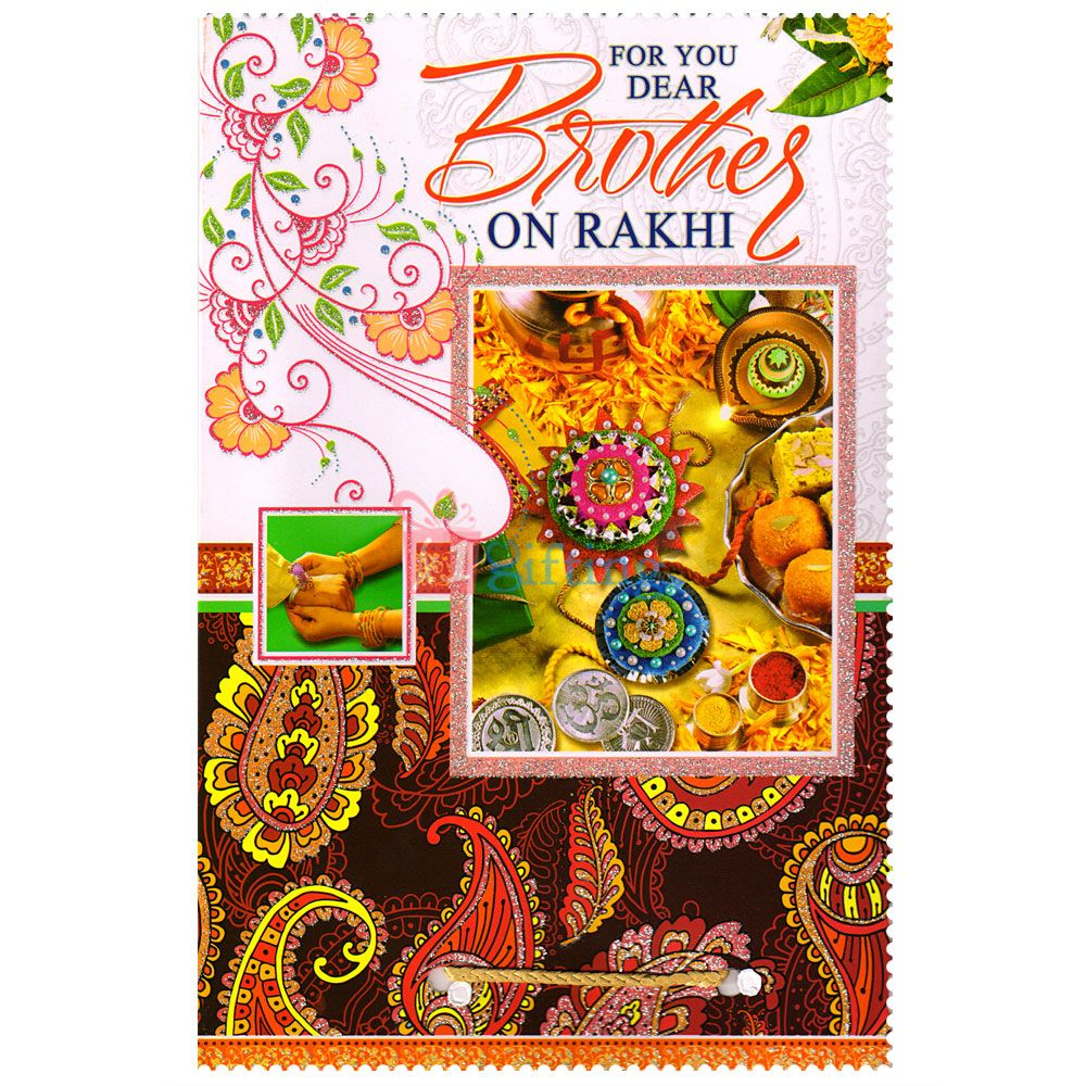 Send Rakhi Greeting Cards Online On Raksha Bandhan For Brother To