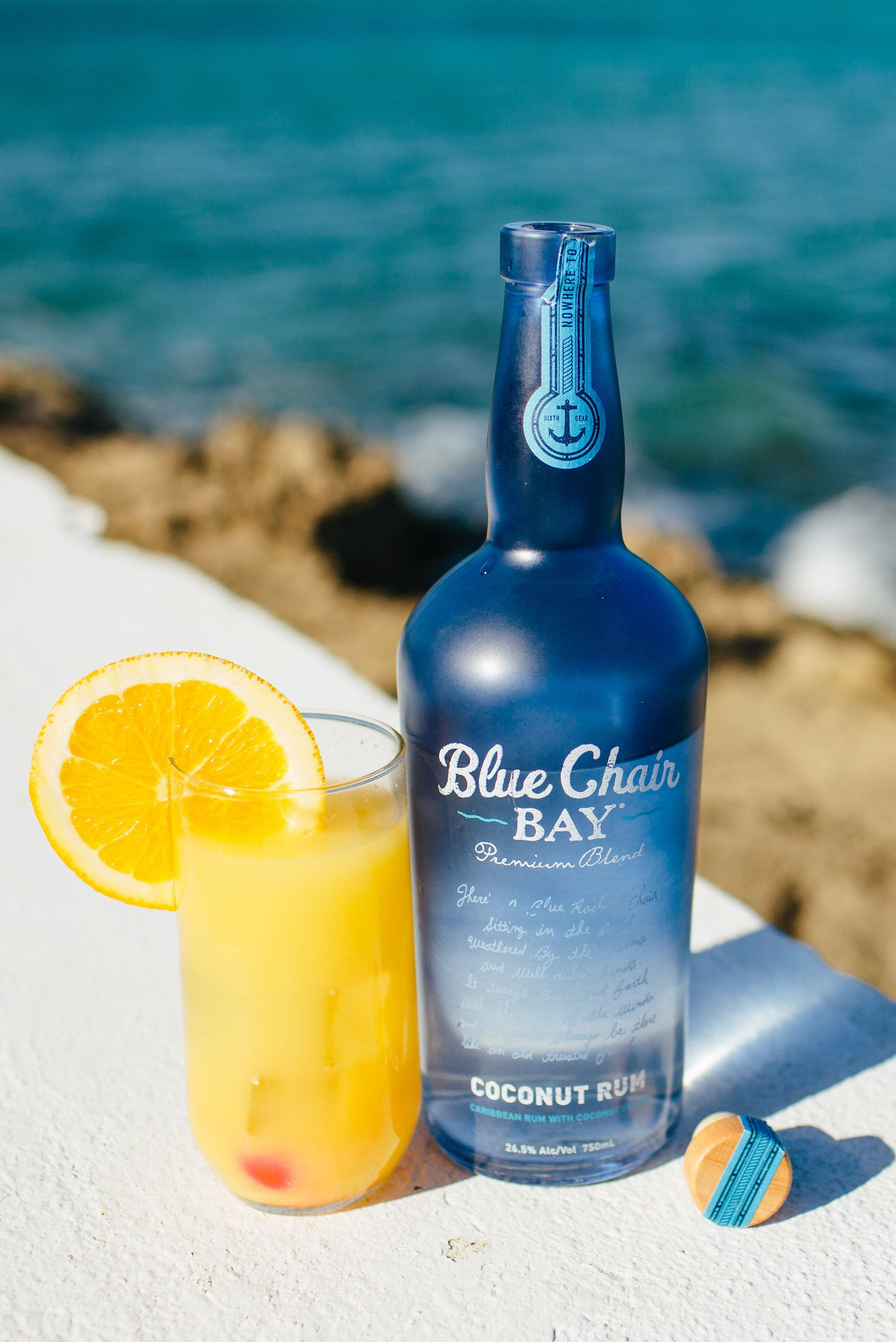 Blue Chair Bay Rum Island Girl Cocktail 1 5 Oz Blue Chair Bay Coconut Rum 1 Oz