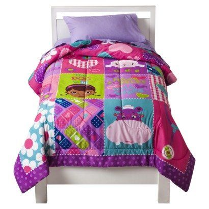 Disney Doc Mcstuffins Comforter And Sheet Set Twin Bed In A Bag You