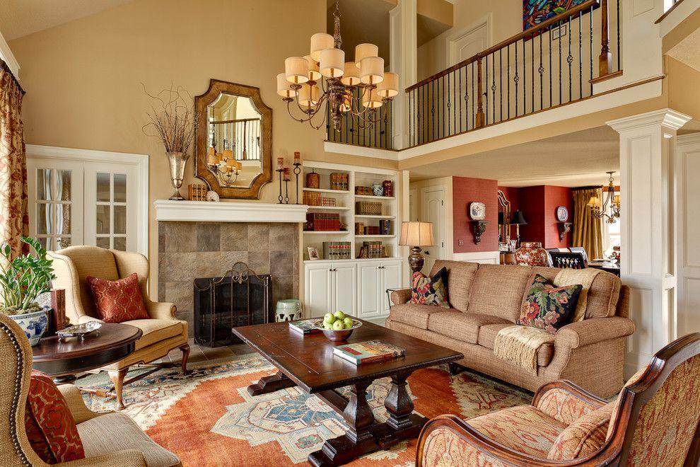 Residential Interiors Kansas City Traditional Living Room