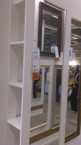 Spiegel Mit Regal Ikea Brimnes Flur Pinterest Ikea Room