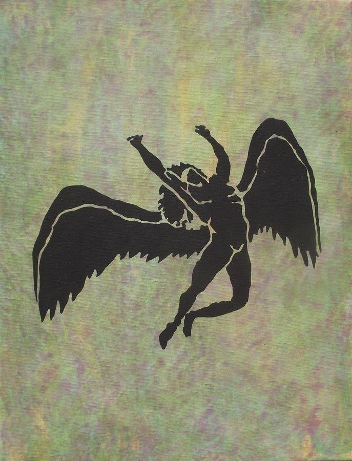 Swan Song Fine Art Print Led Zeppelin Art Zeppelin Art Led Zeppelin Tattoo