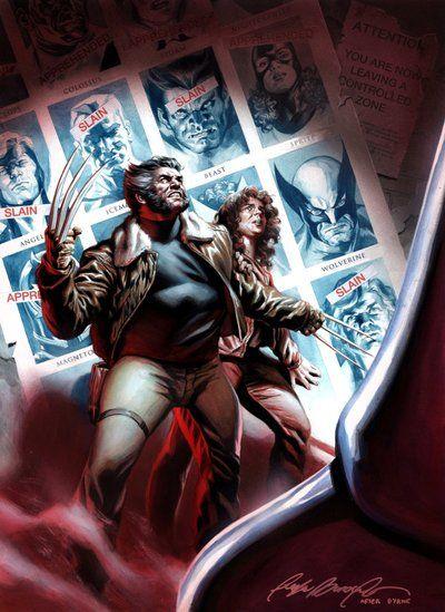 X Men Days Of Future Past Cover Recreation By Felipemassafera Deviantart Com On Deviantart Wolverine Marvel Marvel Comics Art X Men