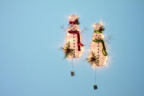 Led Light Up Snowman Wall Decor Led Lights Wall Decor Light Up