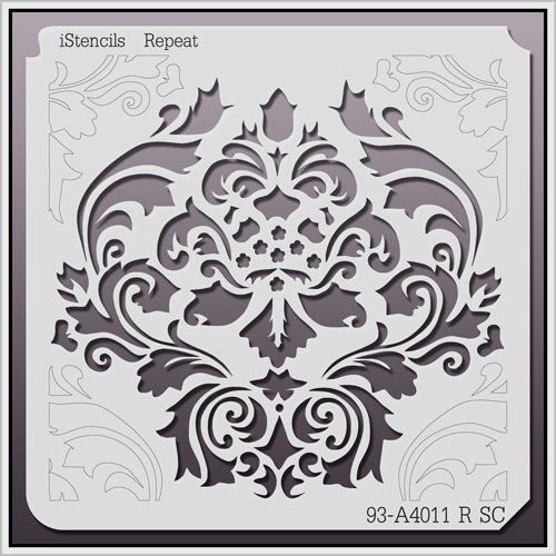 Istencils Repeat Wall Stencil 93 A4011 R 11 X 11 Istencils Https