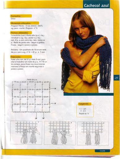 crochetartefacil - Easy Crochét scarf
