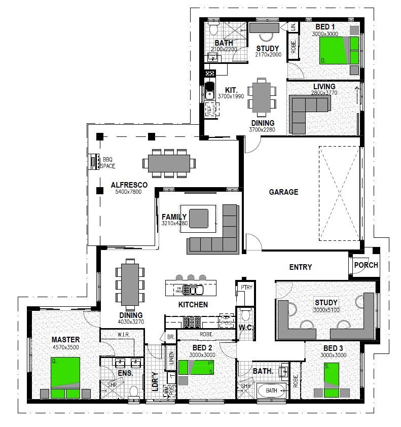 Attached Granny Flats In 2019 House Plans Stroud Homes