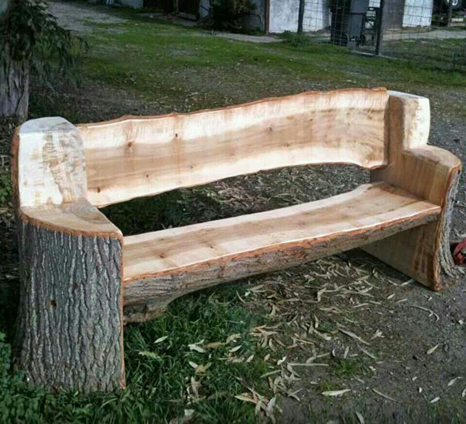 rustic homemade benches norton safe search greenwood. Black Bedroom Furniture Sets. Home Design Ideas