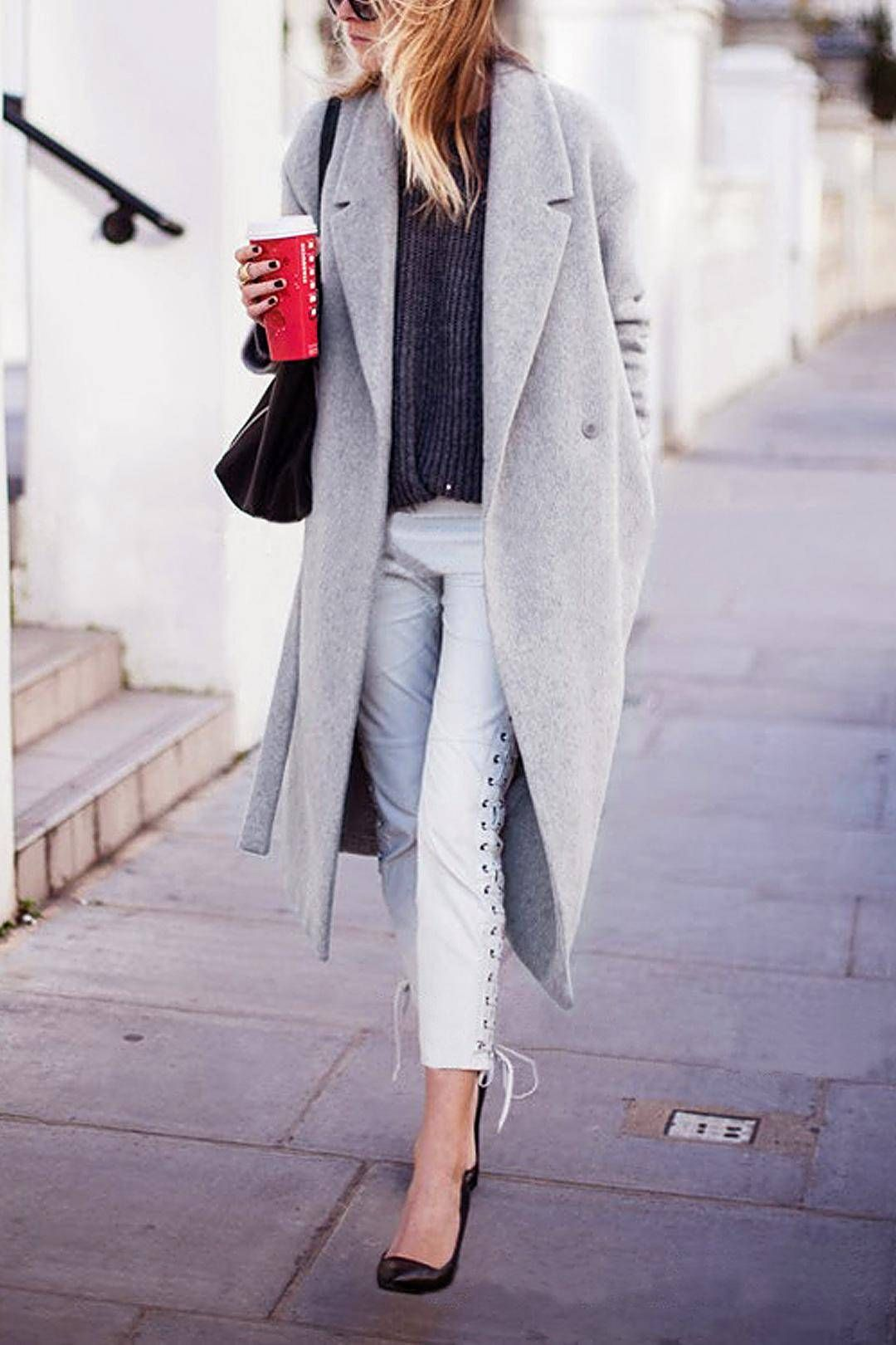 Longline Duster Coat
