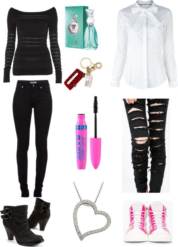 """""""outfit"""" by skylarjade ❤ liked on Polyvore"""
