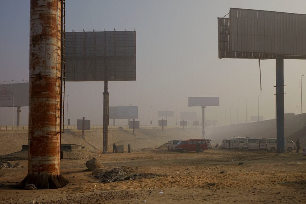 Cairo suburbs 2011 photo by harry gruyaert space is a place magnum photos photography - Fallout new vegas skyline ...