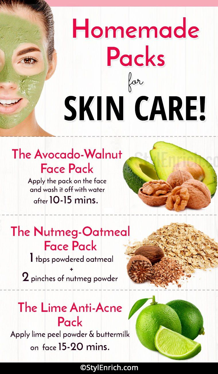 Home-Made Packs For Healthy Hair  Best homemade face mask