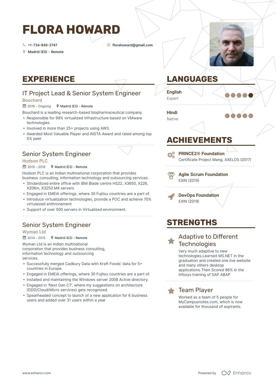 DOWNLOAD Senior System Engineer Resume Example for 2020