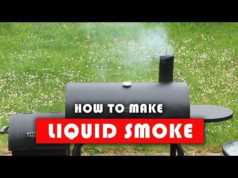 how to make homemade liquid smoke