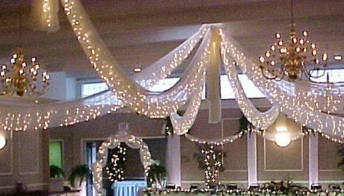 Spring Rose Christmas Wedding Decoration Light Set, 24 Feet Long