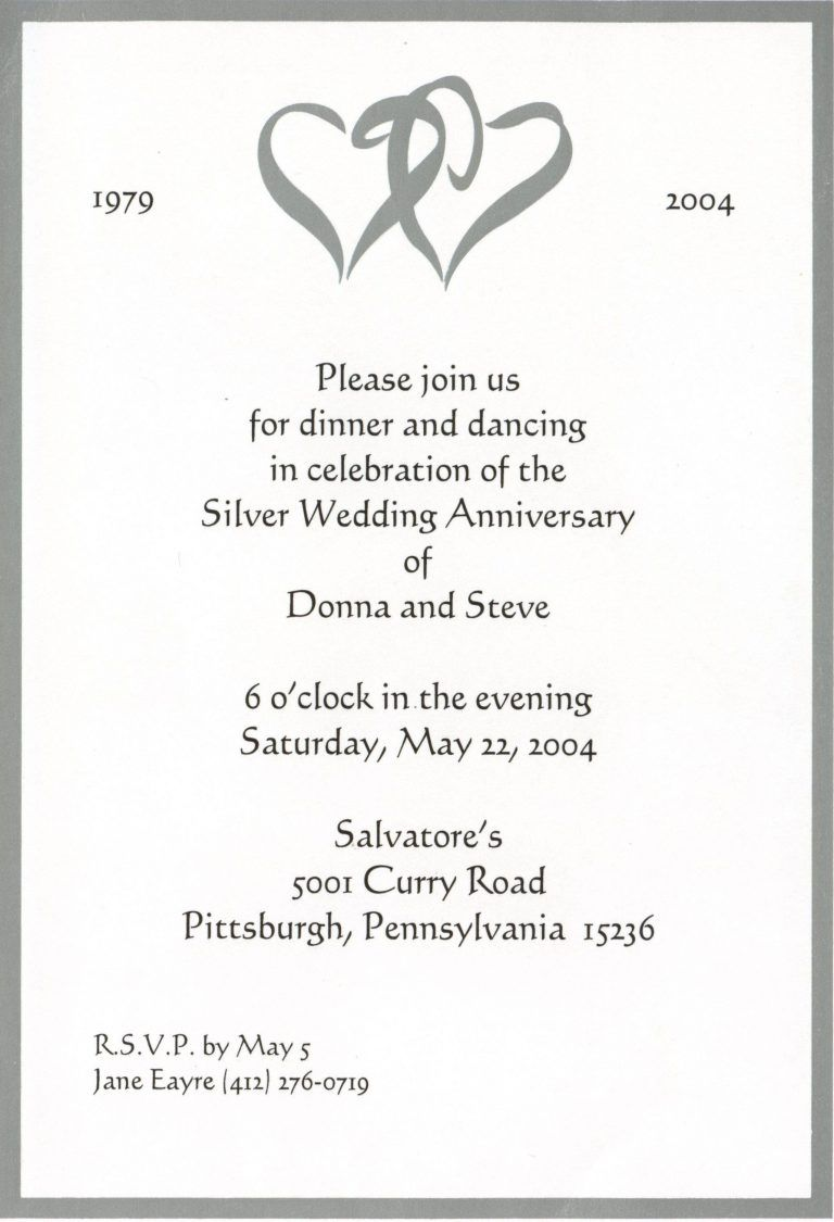 50th Wedding Anniversary Invitation Templates Awesome Signs New