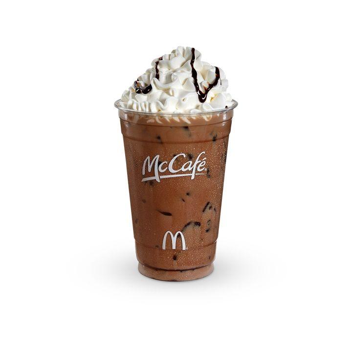 Free mcdonalds iced latte iced mocha iced latte
