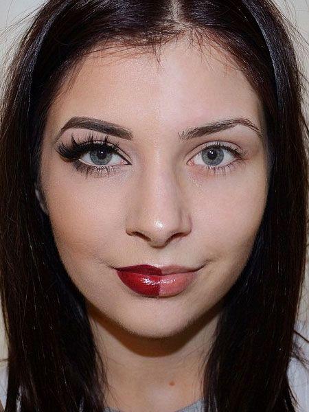 Make-up Shaming: Frauen wehren sich mit diesen Fotos