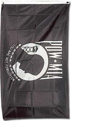 POW-MIA Garden Flag 12 x 18 In the Breeze Prisoner of War Missing in Action