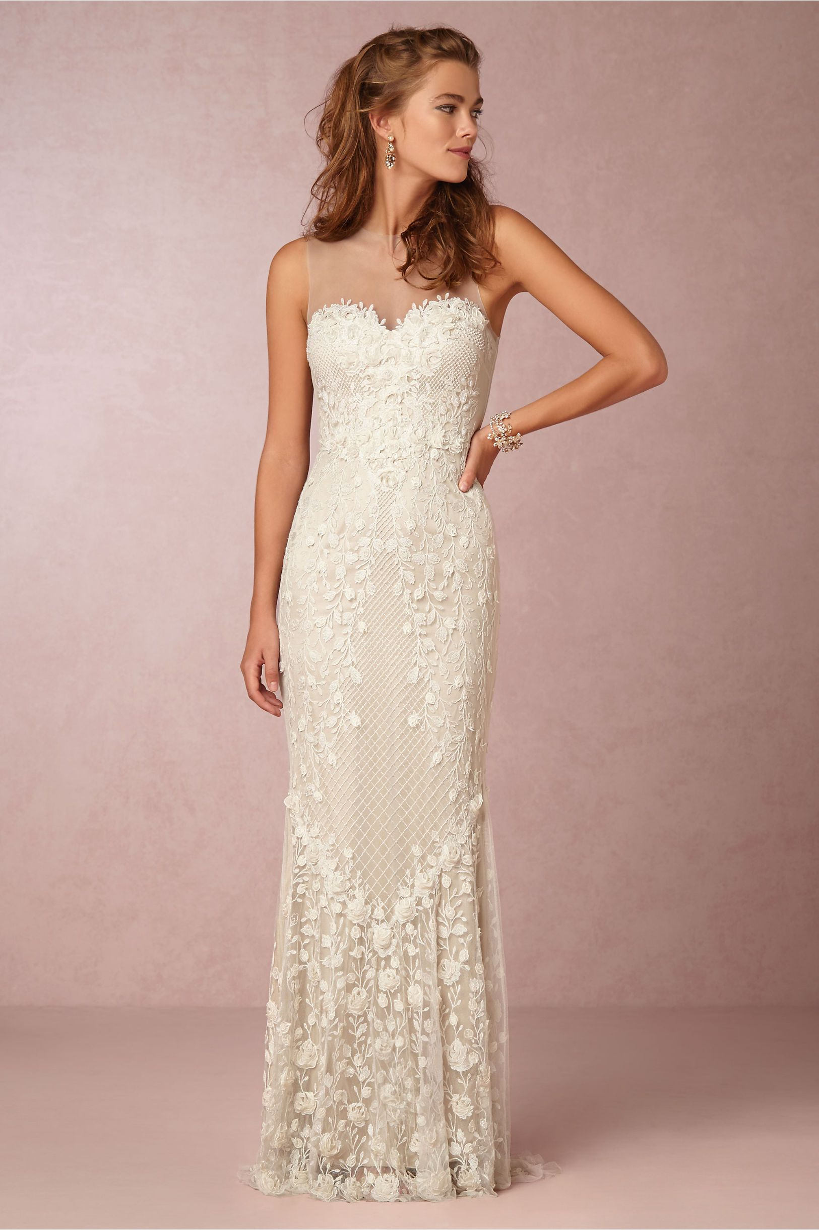 BHLDN Ashton Gown | Gowns, Lace weddings and Lace wedding gowns