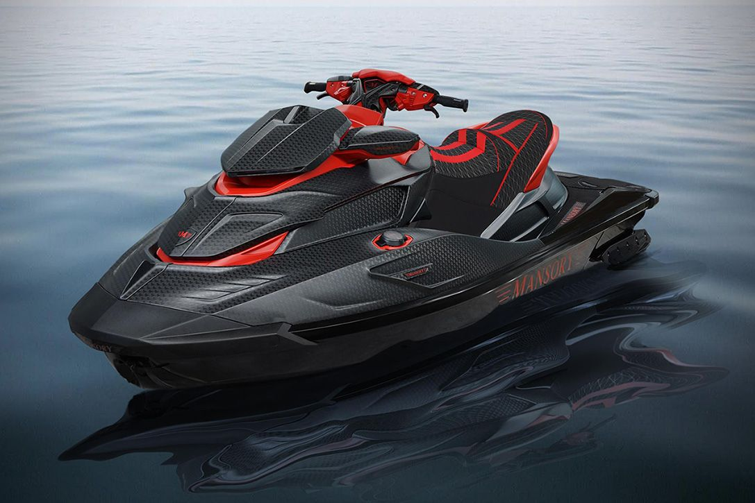 Mansory Black Marlin Luxury Jet Ski Hiconsumption Luxury Jets Jet Ski Ski Boats