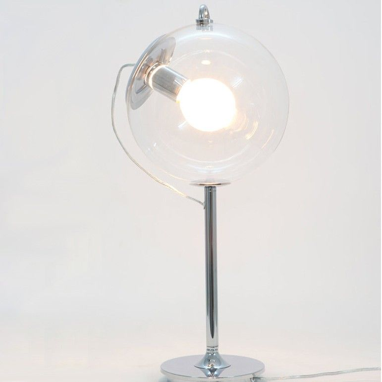 Bubble Table Lamp With Clear Glass Ball Shade Table Lamps Lamps