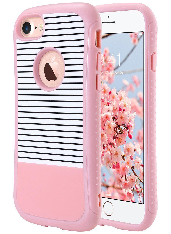 iphone 7 case shockproof rose gold