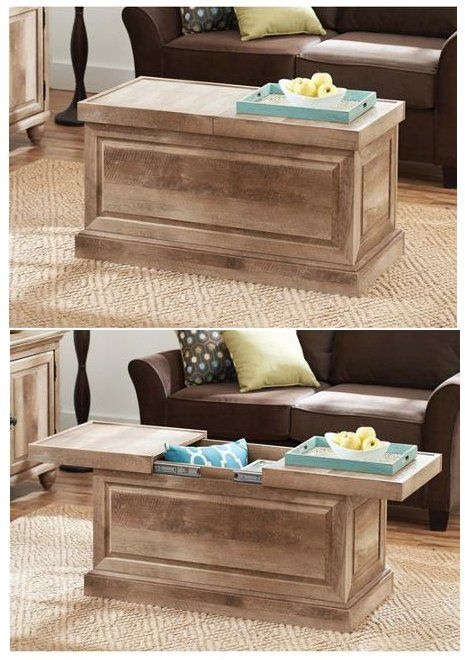 Update Your Living Room Tv Room Or Den While Creating Hidden Storage Space With The B Coffee Table With Hidden Storage Coffee Table Coffee Table With Storage
