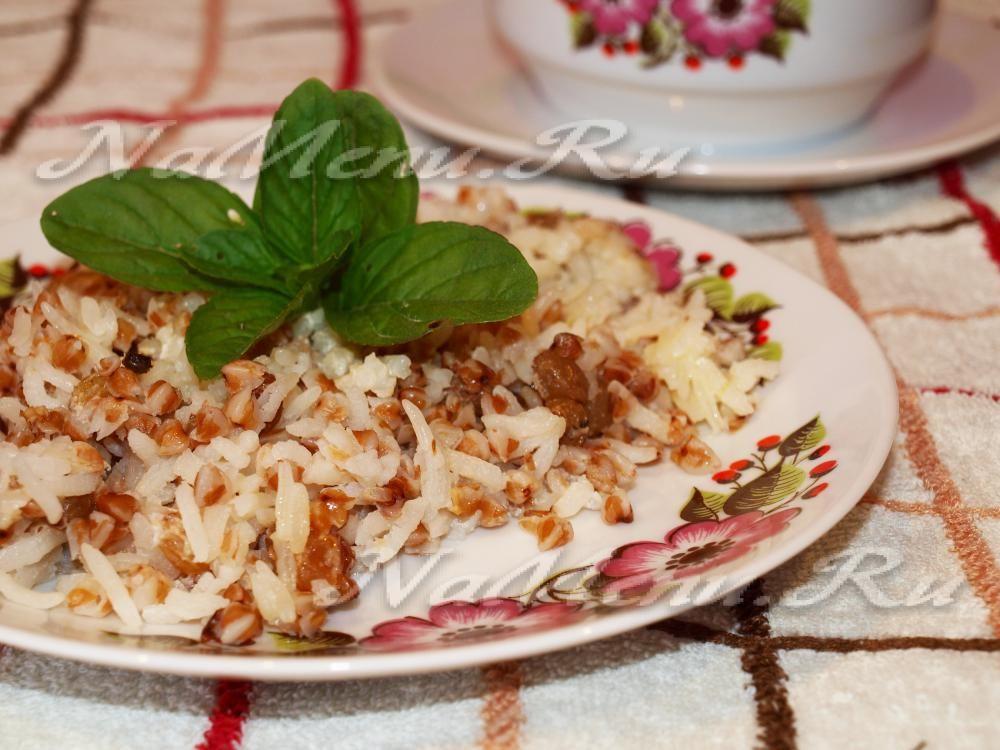 Каша рис с гречкой в мультиварке | Рецепт | Рецепты ...