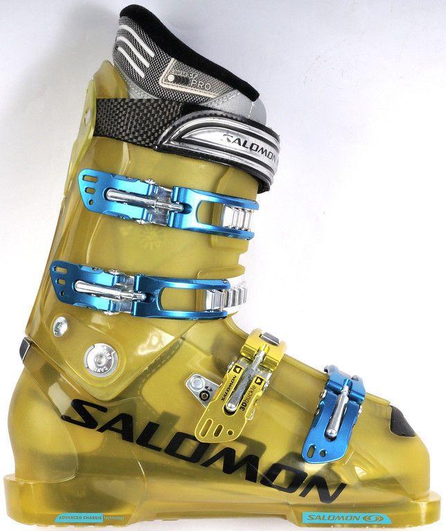 a4bb6a5bf30 Super Clean~low Low Use~salomon Course Cf Pro~flex95~carbon Link Ski  Boots~m  8½
