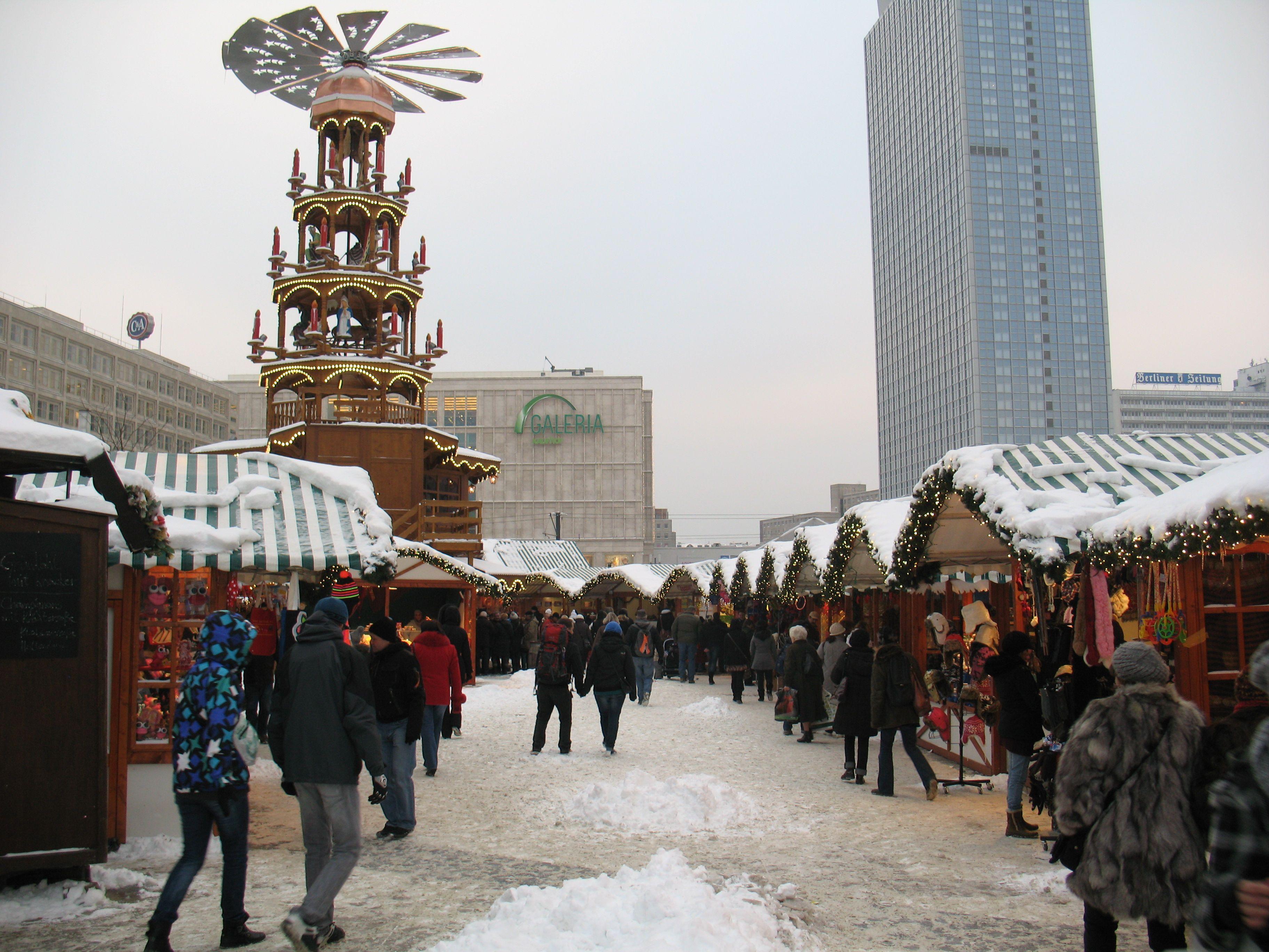 Deutsch Weihnachtsmarkt Quebec City