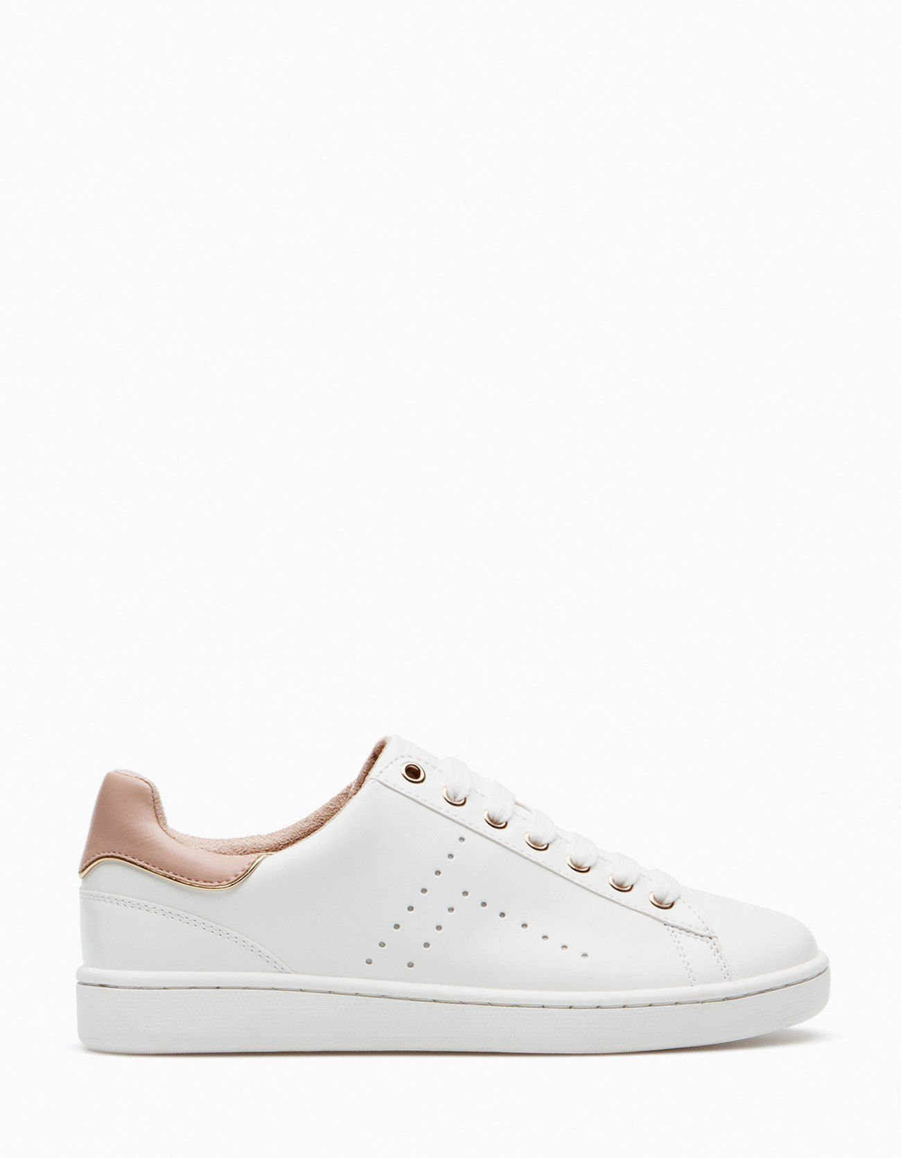 huge discount f3ccf 0c4b0 White sneakers - ALL - WOMAN   Stradivarius United Kingdom