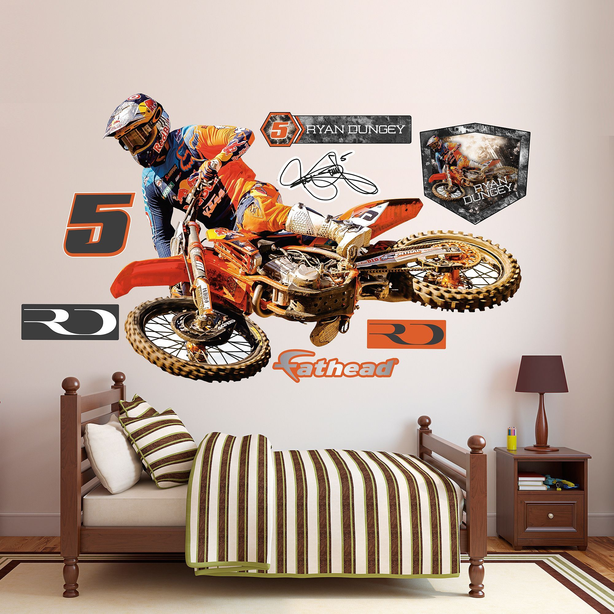 Fathead Wall Art fathead wall decals are hi-definition action images that you stick