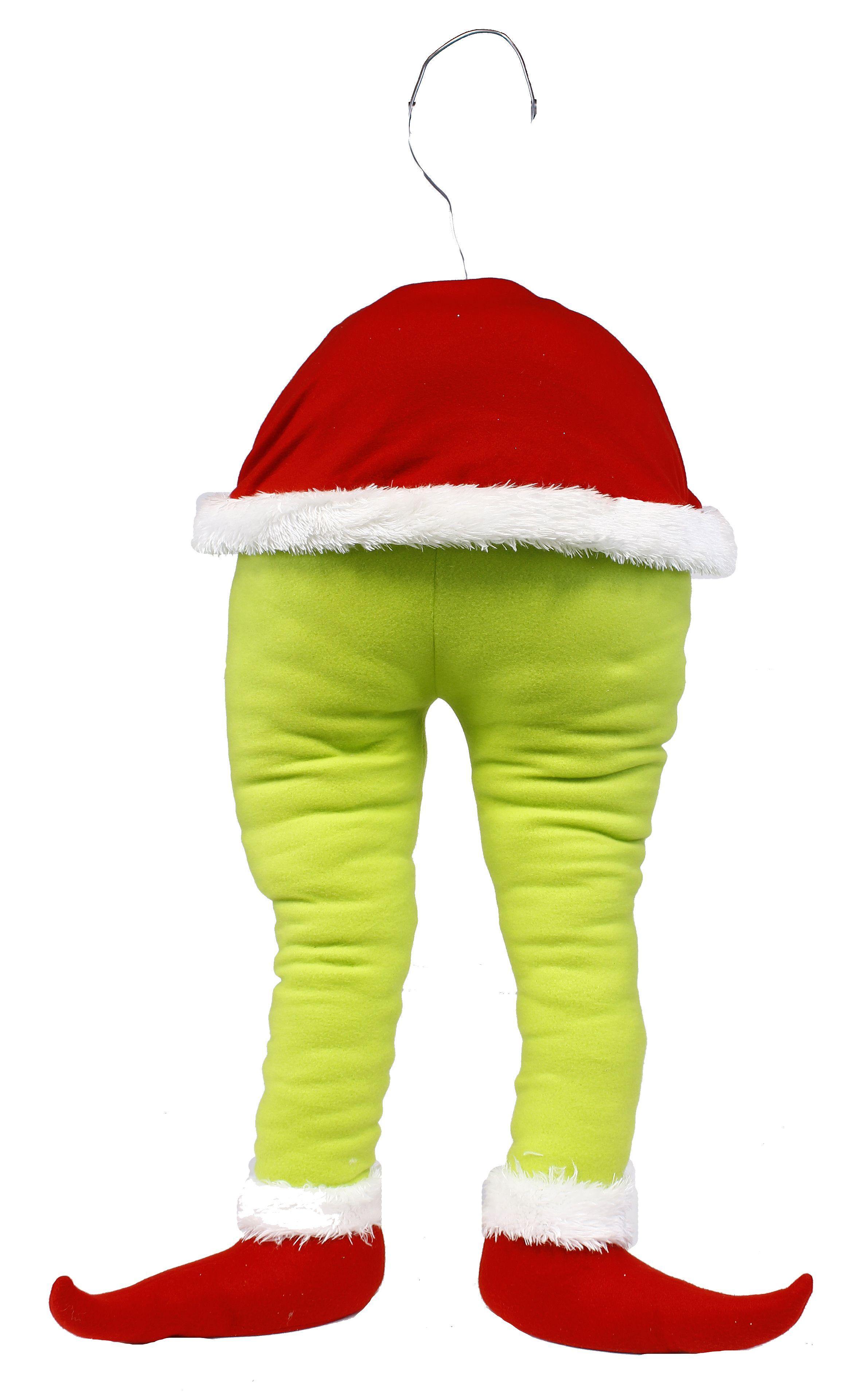 "18""L Christmas monster bottom wreath enhancement. #Christmas #monster #wreath #enhancement #craigbachman"