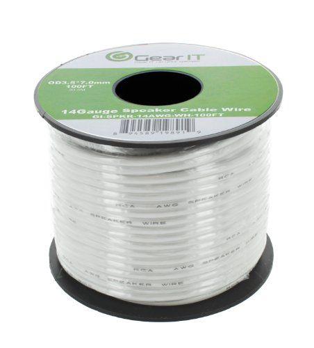 14AWG Speaker Wire, GearIT Pro Series 14 AWG Gauge Speaker Wire ...